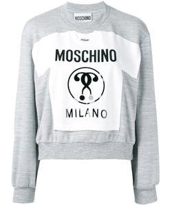 Moschino | Milano Patch Sweatshirt Size