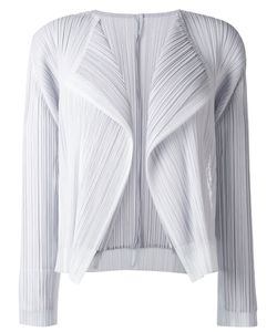 PLEATS PLEASE BY ISSEY MIYAKE | Pleated Cropped Jacket