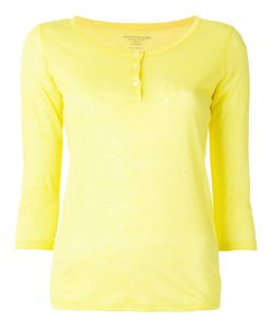 MAJESTIC FILATURES | Henley Longsleeved T-Shirt Size 2