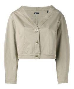 Jil Sander Navy | Cropped Jacket Size 36