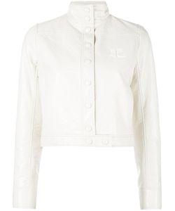 Courreges | Courrèges Vynil Jacket 38 Cotton/Polyurethane/Acetate/Cupro
