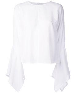 Lamarck | Pleated Sleeves Top