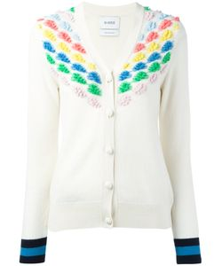 BARRIE | Embroidered Knitted Cardigan Size Small