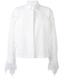 Ermanno Scervino | Рубашка С Кружевной Отделкой