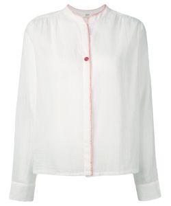 Vanessa Bruno Athe'   Vanessa Bruno Athé Band Collar Shirt Size