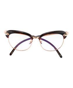POMELLATO | Oversized Frame Glasses Acetate/Metal