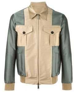Dsquared2 | Contrast Bomber Jacket 48 Polyester/Cotton