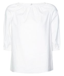 Co   Ruched Blouse Women Xs
