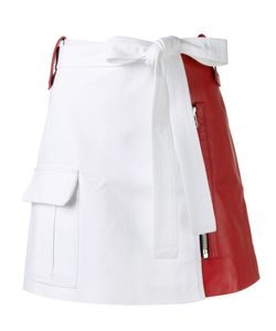 Each X Other | Leather Mini Skirt Medium Lamb