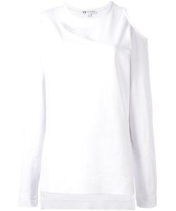 Y-3 | Slit Trim Sweatshirt Small Cotton