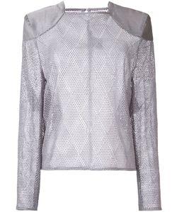 Bianca Spender | Croquet Lace Feint Blouse Size 6