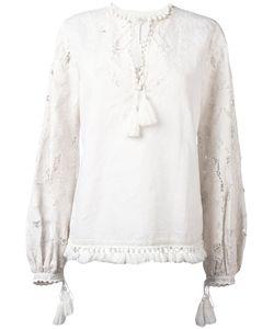 TALITHA | Lacel Blouse Small Cotton