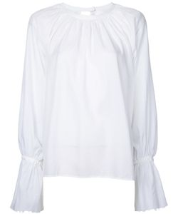 Cityshop | Gathered Neck Long Sleeve Blouse