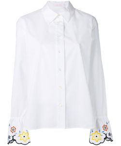 See By Chloe | See By Chloé Embroidered Cuff Shirt Size 34