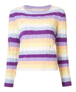 Marc Jacobs | Cable Knit Stripe Sweater Size Small