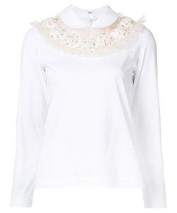 Tricot Comme des Garçons | Comme Des Garçons Tricot Bead Embellished Blouse Small