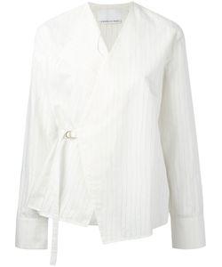 CHARLIE MAY | Wrap Shirt Size 12
