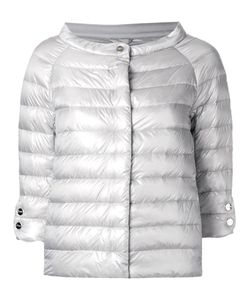Herno | Collarless Down Jacket 42 Goose Down/Polyamide