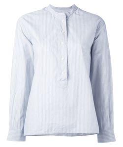 MARGARET HOWELL   Полосатая Блузка Без Воротника