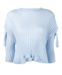 Helmut Lang | Ribbed Tie Sleeve Sweater