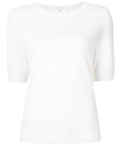 Allude | Short-Sleeve Jumper L