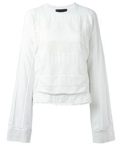 Haider Ackermann | Polonium Raw Hem Sweatshirt Size Xs