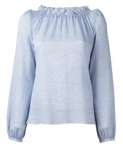 Goat   Renoir Blouse 8 Cotton/Spandex/Elastane