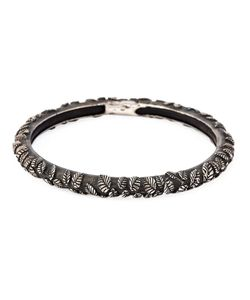 UGO CACCIATORI | Embossed Leaf Bangle