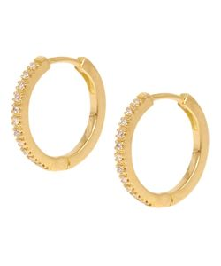 DIMA | Diamante Hoop Earrings