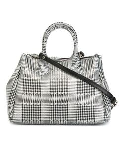 GUM   Prince Of Wales Check Tote
