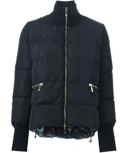MONCLER X ERDEM | Printed Lining Padded Jacket