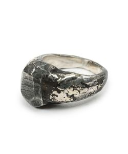 LEE BRENNAN DESIGN | Distressed Signet Ring