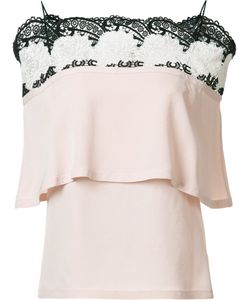 Yigal Azrouel | Off Shoulder Top 0 Silk