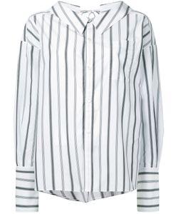 G.V.G.V. | Striped Bow Detail Shirt G.V.G.V.