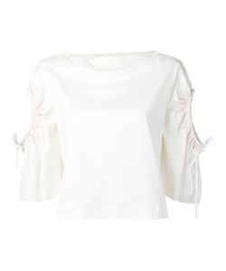 SportMax | Lace-Up Sleeves Blouse M