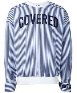 JUUN.J | Slogan Front Shirt Mens Size 48 Cotton