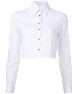 JOURDEN | Polka Dots Cropped Shirt 38 Cotton