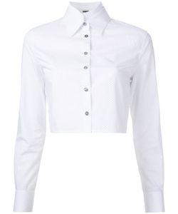 JOURDEN | Polka Dots Cropped Shirt 36 Cotton