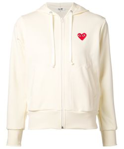 Comme des Gar ons Play | Comme Des Garçons Play Heart Logo Zip Hoodie Size Large