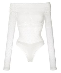 Faith Connexion | Lace Off-The-Shoulder Top Size Medium