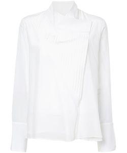 ZEUS + DIONE | Pleated Asymmetric Shirt Women 40