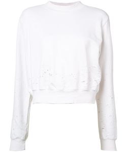 Cotton Citizen | Distressed Cropped Sweater