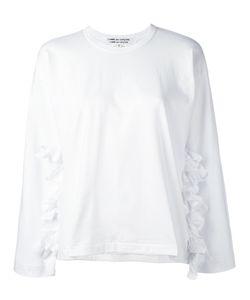 COMME DES GARCONS COMME DES GARCONS | Comme Des Garçons Comme Des Garçons Frilled Detail Sweatshirt