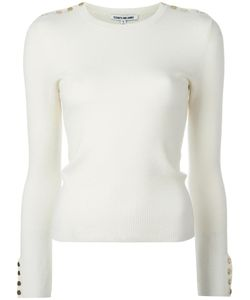 Elizabeth And James | Gabrielle Knitted Blouse Medium Polyester/Merino