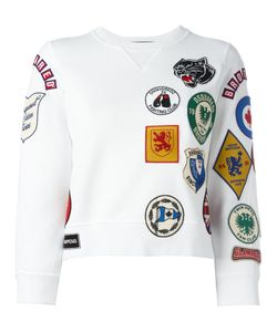 Dsquared2 | Patch Three-Quarter Sleeved Sweatshirt Xs Cotton