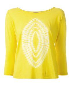 SUZUSAN | Printed Sweatshirt Medium Cotton