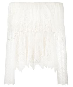 Alexander McQueen | Off-Shoulder Lace Top