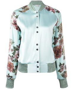 La Perla | Maps In Bloom Bomber Jacket