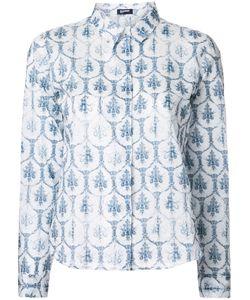 Jil Sander Navy | Printed Shirt 40 Cotton