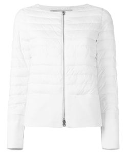 Herno | Zipped Puffer Jacket 42 Polyamide/Polyurethane/Cotton/Polyester